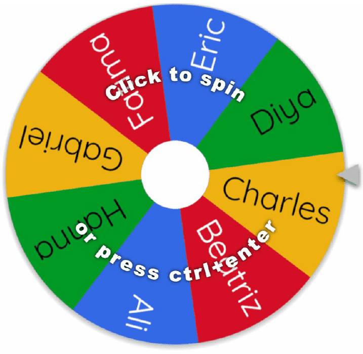 vfairs spin the wheel