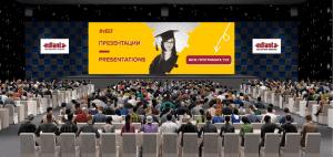 virtual education fair auidtorium