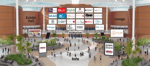 lobby on virtual event platform
