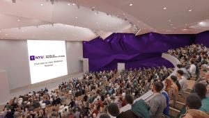 virtual career fair auditorium