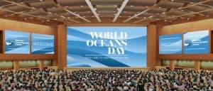 World Ocean's Day auditorium